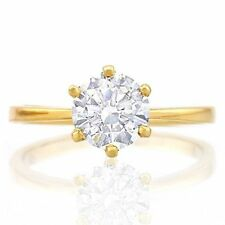 Solitaire Diamond 10k Engagement Rings