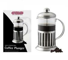 Apollo presse française Pot en Acier Inoxydable Verre Cruche Cafetière Espresso piston