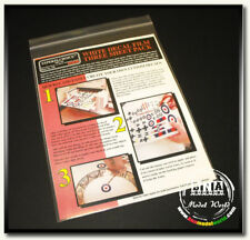 Bare Metal Inkjet White Decal Film - Three Sheet Pack #BMF-120