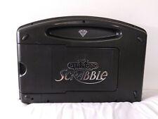Scrabble Diamond Anniversary Edition Folding Travel Case Turntable Never Used