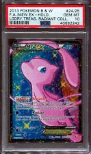 Mew EX - Full Art - Legendary Treasures - RC24/RC25 - PSA 10