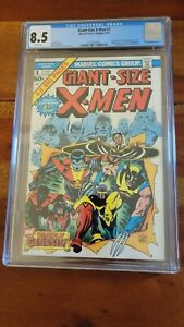 Giant-Size X-Men #1 1975 CGC 8.5 White Pages 1st Storm Nightcrawler Colossus etc