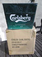 Carlsberg Ice Bucket Galvanized Metal Cooler 2014