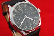 PILOT Vintage Russian USSR vs Germany MILITARY style pilot's watch Commamders