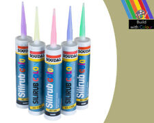 Pietra Di Portland Colore Silicone Sigillante Soudal 310 ML Indoor & Outdoor uso fai da te