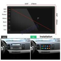 "7"" Android 9.1 Car Stereo Radio 2Din 2+32GB GPS Navigation OBD DAB Universal"