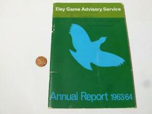 Eley Game Advisory Service Station Annual Review Booklet 1963 / 64 *