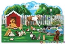 Shaped Floor Puzzle Melissa and Doug Pet Party 32 Piece