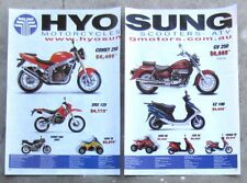 HYOSUNG GT COMET GV AQUILA 250 2003 Motorcycle Magazine Page Sale Advertisement