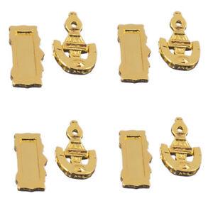Dolls House Miniature Brass Front Door Furniture Set Knocker Letter Box Slot