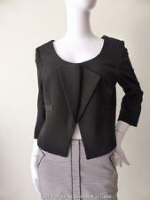 VERONIKA MAINE  3/4 Sleeve Black Jacket  Made In Australia Size 10  US 6