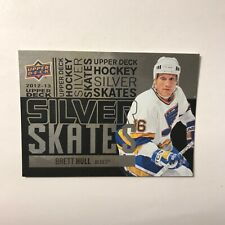 2012-13 Upper Deck Silver Skates Brett Hull SP