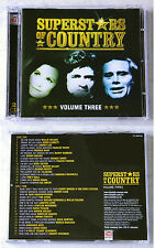 SUPERSTARS OF COUNTRY Volume Three - Johnny Lee, Cal Smith,. Time Life DO-CD TOP