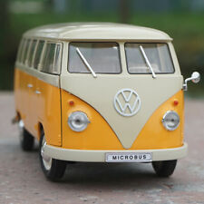 WELLY 1:18 1963 VW VOLKSWAGEN T1 Bus Microbus Diecast Car Model New In Box