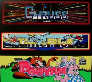 GYRUSS - TIME PILOT - POOYAN - Konami Arcade - LOGIC PCB BOARD - Working 100% -