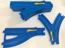 9 Accessory Pieces Thomas The Train TOMY Trackmaster Blue Track