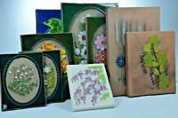 Vintage Jie Gantofta Sweden Ceramic Wall Plaque Tile Aimo Nietosvuori Hand Made