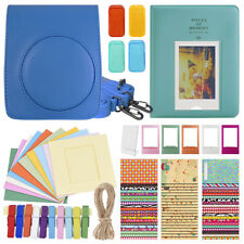 Deluxe Stylish Fun Accessory Kit for Fujifilm Instax Mini 70 Camera All Colors
