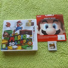 SUPER MARIO 3D LAND NINTENDO 3DS V.G.C. FAST POST ( action/adventure & platform