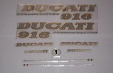Ducati 916 aufkleber set