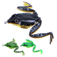 5cm / 10g Soft Silicon Frog Lure Snakehead Bait Topwater Simulation Fishing Lure