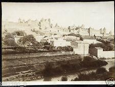 photo ancienne . Carcassonne . Aude