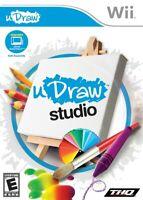 uDraw Studio - Nintendo  Wii Game