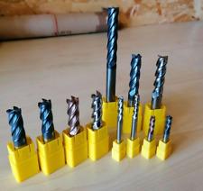 Fräser VHM Vollhartmetall Schaftfräser Ø12mm für Stahl Trochoidal