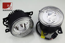High Quality DRL+ FOG Light Daytime Running Lights Round 4-LED CREE HQ-V17