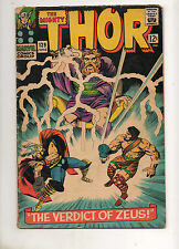 """Thor #129 1ST APP ARES, GOD of WAR! 4TH """"THOR"""" ISSUE 1966! 1st Tana Nile VG 4.0"""