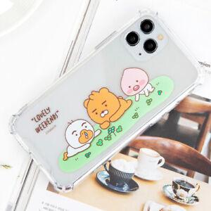 Genuine Kakao Friends Little Park Clear Case Galaxy S9 Galaxy S9 Plus Case Korea