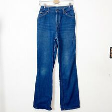 Vintage Levis Orange Tag Straight Leg High Waist Cotton Jeans Womens Size 28