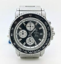 Reloj crono caballero aluminio Breil