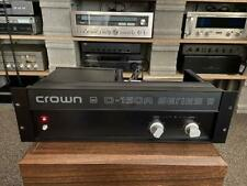 CROWN  D-150A SERIES ll Amplifier. Unit #4 GREAT CONDITION