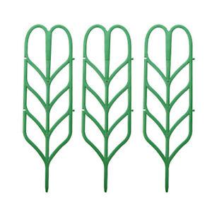 3Pcs DIY Plant Support Frame Artificial Mini Climbing Trellis Flower StandBDZY