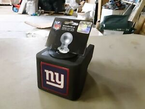 """ShinShield NFL Rubber Trailer Hitch Cover, New York Giants, 2-1/2"""" Ball 1201"""