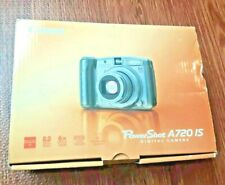Canon PowerShot A720 IS 8.0MP Digital Camera - Silver.