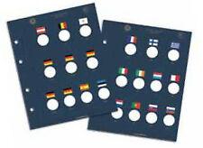 Foglio VISTA per album raccoglitore per monete da 2 euro commemorative 2012