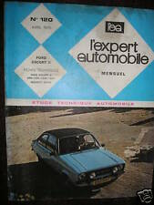 "Ford ESCORT II  ""76"" revue tech EA 120"