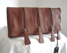 Handtasche Tasche Clutch Lilly Boston Cognac Fritzi aus Preußen