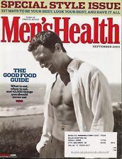 Men's Health Magazine  9/03 Chris Charles STYLE GUIDE Samuel L. Jackson ~ E-5-1
