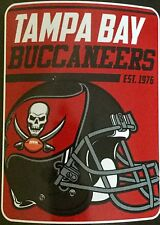 "Tampa Bay Buccaneers NFL CASCO LOGO 46 ""X 60"" Soft Coperta in pile"