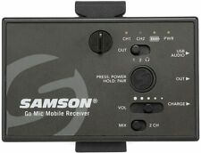 SAMSON GO MIC Mobile Receiver Only UK Version Wireless Microphone System MIC