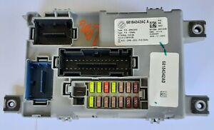 12-15 FIAT 500 BODY CONTROL MODULE FUSE BOX BCU BCM OEM PN: 68184342AC