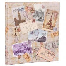 HENZO Fotoalbum City Travel 60 Seiten Urlaubsalbum Jumboalbum Album Reisealbum