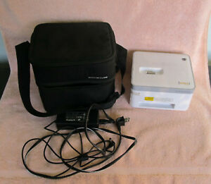 Vupoint Photo Cube Printer IP-P10-VP With Travel Storage Case NEW Without Box