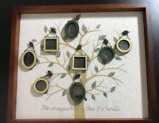 Unique Family Tree Of Life Collage Wall 8 mini Photo Frames inspirational quote