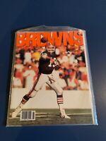 Cleveland Browns -1989 Official Program- Bernie Kosar - Vintage Collectible- NFL
