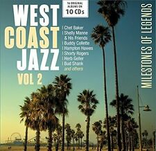 West Coast Jazz Vol. 2 - Milestones of Legends Various Artists 4053796003188