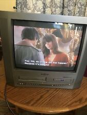"Broksonic Sc-20145 20"" Crt Tv/Dvd/Vcr Combo Gaming w/ Remote"